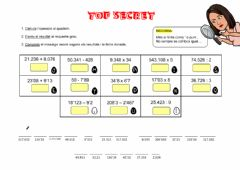 Interactive worksheet Operacions