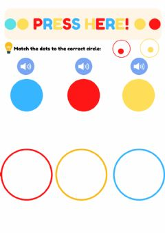 Interactive worksheet Press here: colours matching