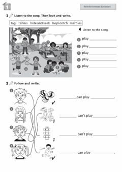 Ficha interactiva 2nd Primary - Review Unit 1.2