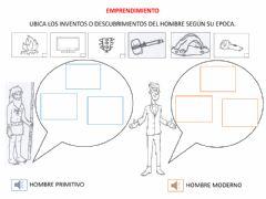 Interactive worksheet Inventos y descubrimientos