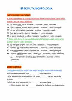 Interactive worksheet Olimpiadi italiano:morfologia