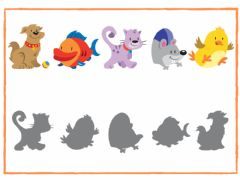 Interactive worksheet Pets Vocabulary 3 Years Old