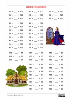 Interactive worksheet Formare il 100 4