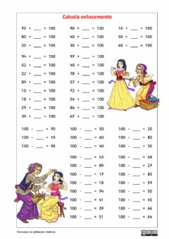 Interactive worksheet Formare il 100 5