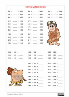 Interactive worksheet Formare il 1000 3