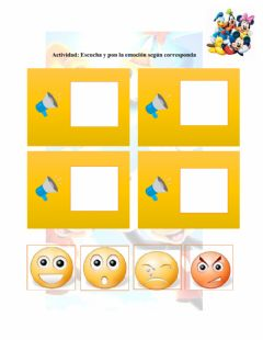 Interactive worksheet Ámbito Comprension y Expresion del Lenguaje