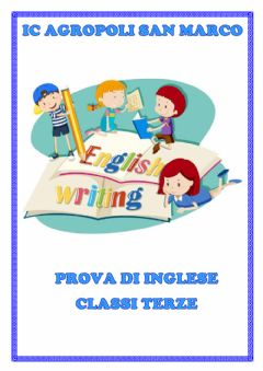 Interactive worksheet verifica inglese terza