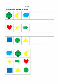 Interactive worksheet Series