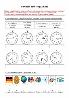 Interactive worksheet Wir wiederholen