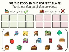 Interactive worksheet Classify