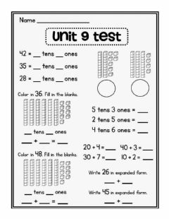 Interactive worksheet Place Value (Tens and Ones)