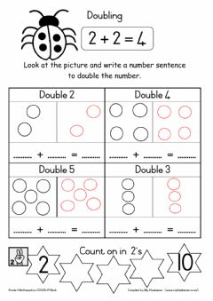 Interactive worksheet Covid-19 Book T2W19D1 (Doubling)