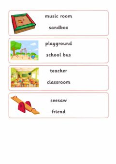 Interactive worksheet First Friends 2, Unit 2, Our School
