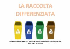 Interactive worksheet La raccolta differenziata