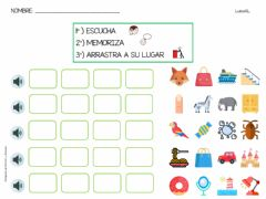 Interactive worksheet Vocabulario (3)