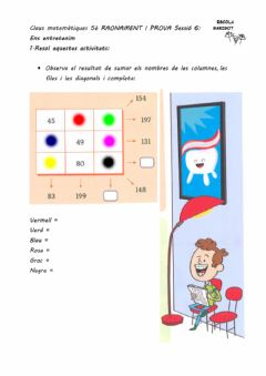 Interactive worksheet Raonament i prova 6