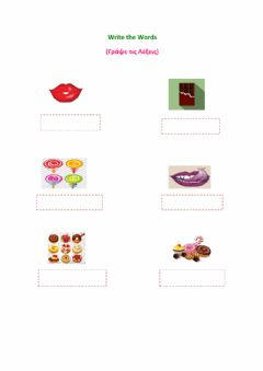 Interactive worksheet Vocabulary on food