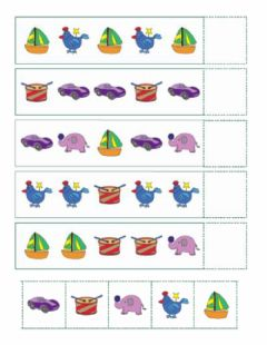Interactive worksheet Toys Patterns
