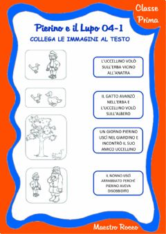 Interactive worksheet Pierino e il lupo 04-1