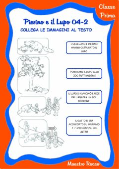 Interactive worksheet Pierino e il lupo 04-2
