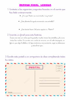 Interactive worksheet Repaso final