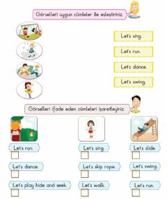 Interactive worksheet Unit 6 At the playground - Exercies 5