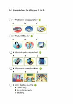 Interactive worksheet Technology and people