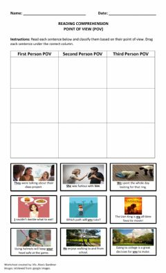 Interactive worksheet Point of View I