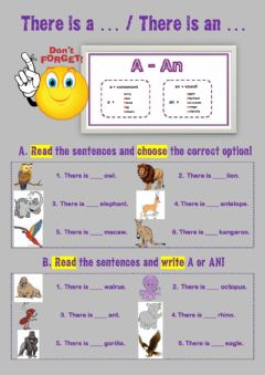 Interactive worksheet There is