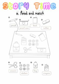 Interactive worksheet Story time 1 Exercises