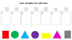 Interactive worksheet Geometry and colors