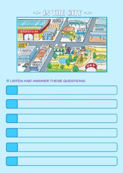 Interactive worksheet In the city 5