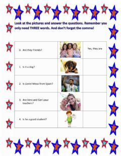 Ficha interactiva Questions and Answers
