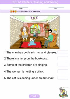 Interactive worksheet A1 Starters-p2