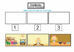 Interactive worksheet Goldilocks (sequence)
