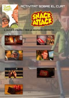 Ficha interactiva Snack attack (CI)