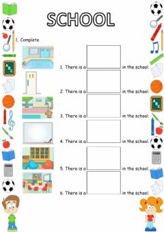 Interactive worksheet School