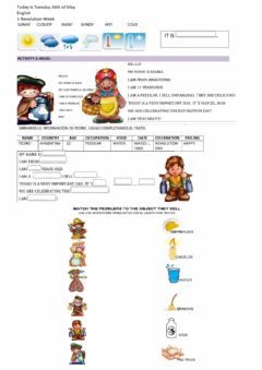 Interactive worksheet Quintosemanademayo26