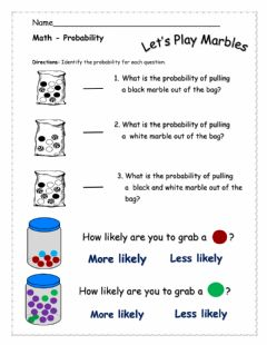 Interactive worksheet Probability