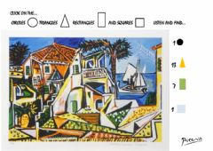 Interactive worksheet Picasso