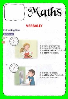 Interactive worksheet Math W15 Time Wednesday