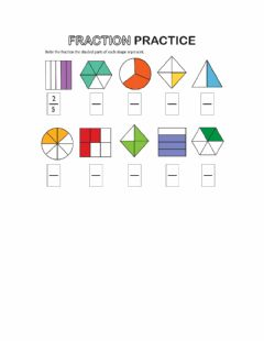 Interactive worksheet Fractions 1