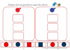 Interactive worksheet CLASIFICAR POR COLORES