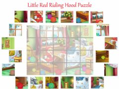 Ficha interactiva Little red riding hood Puzzle