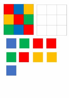 Interactive worksheet Coding e colori