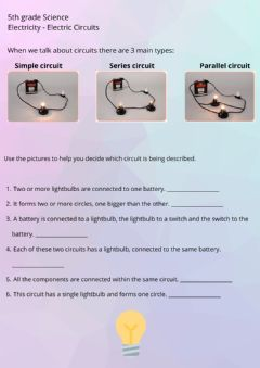 Interactive worksheet Electric Circuits 2