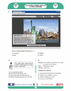Interactive worksheet 8.5 The Internet