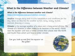 Interactive worksheet Climate zones