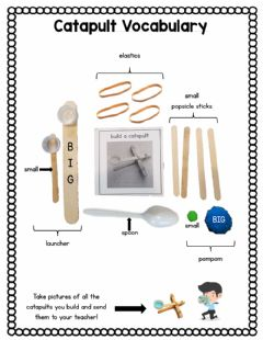 Interactive worksheet Catapult Questions