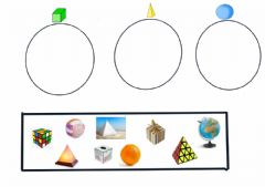Interactive worksheet Figuras tridimensionales
